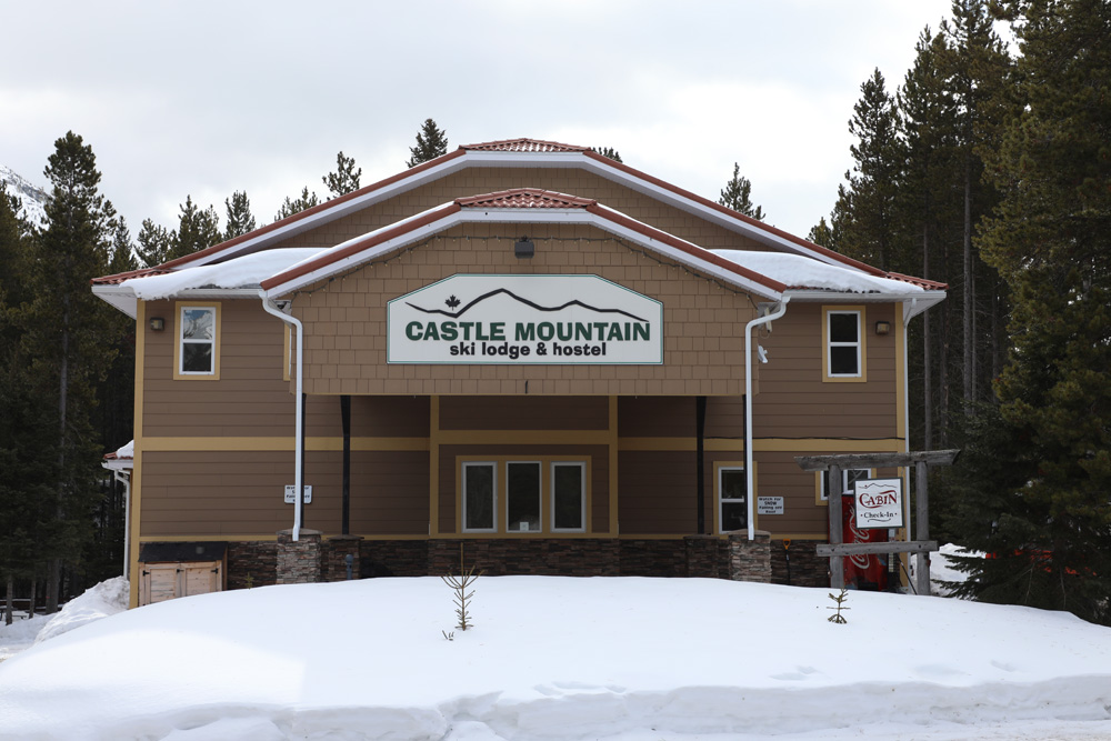 Castle Mountain/Castle Mountain Lodge/Außenbild