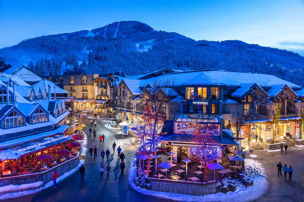 Whistler/Crystal Lodge/Aussenansicht