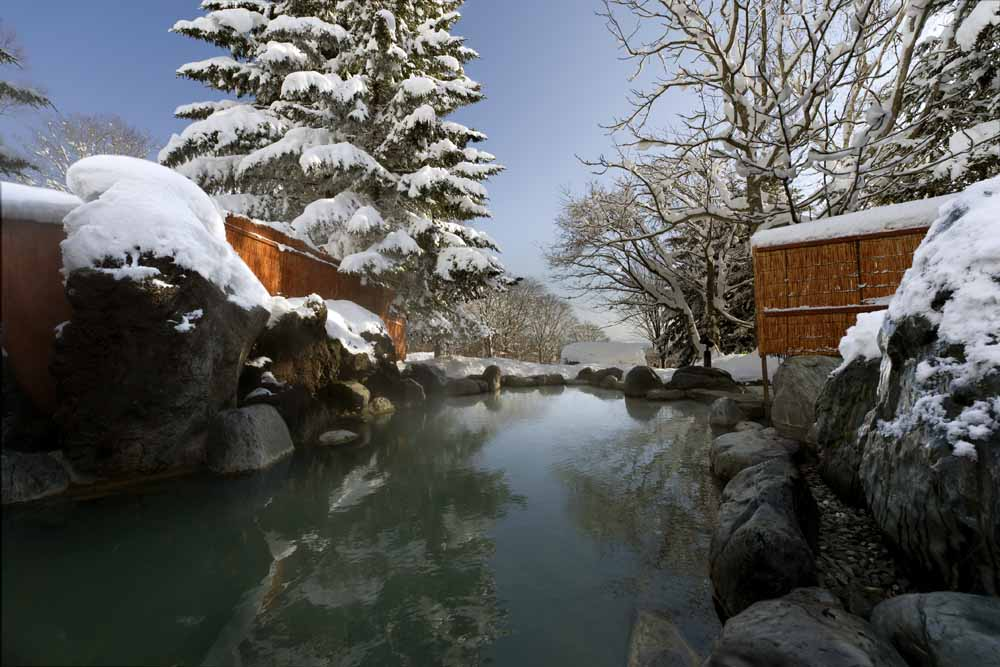 Japan/Niseko/Green Leaf/Onsen