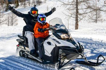 Panorama/Toby Creek/Snowmobiling Family
